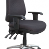 Products Egress Emboss Heavy Duty Black Chair