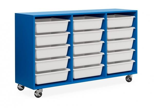 Mobile Tote Trolley 15 Box