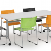 Uni Flip Table And Link Chairs