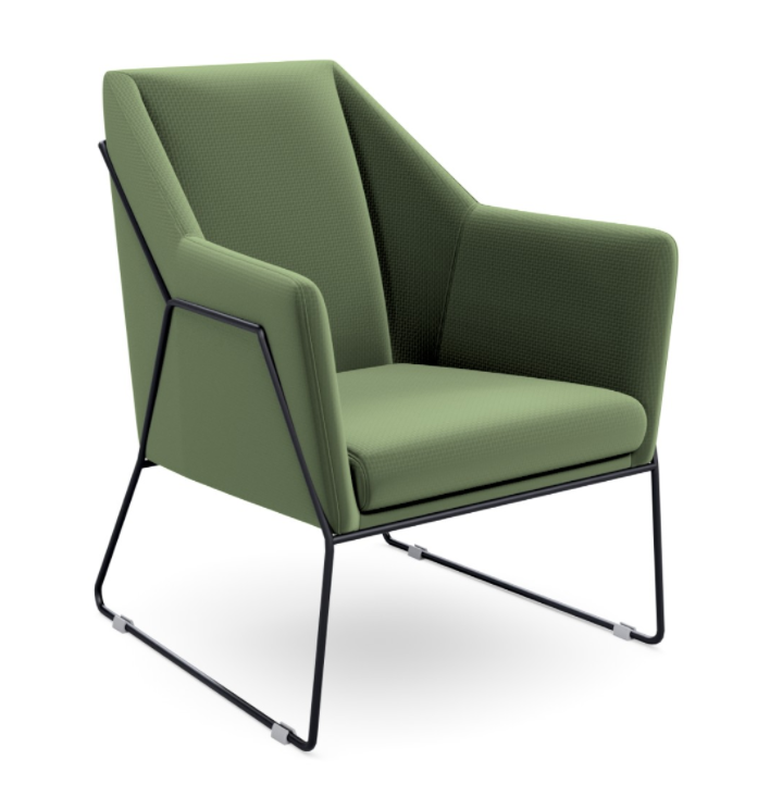 Audo Reception Chair Green 2