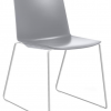 Products Sweep Sled Chair Grey