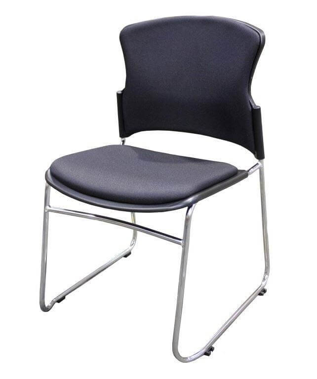 Focal Sled Base Chair Upholstered