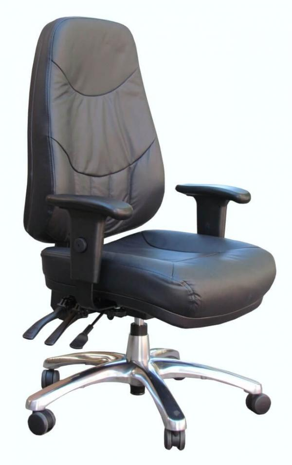 Atlas Leather Executive Boardroom Chair