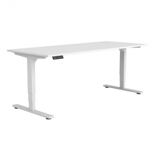 Vortex Commercial Standing Electric Straight Desk