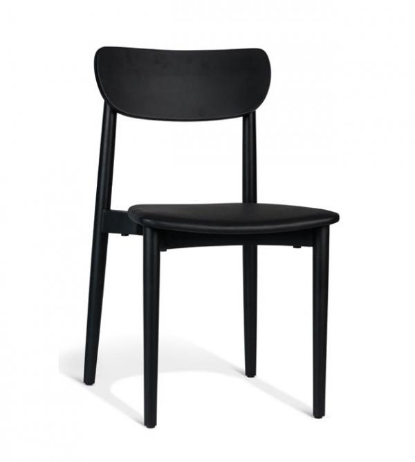 Nordy Timber Chair Black