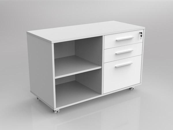 Axel Caddy Mobile Bookcase  - 1 Drawer