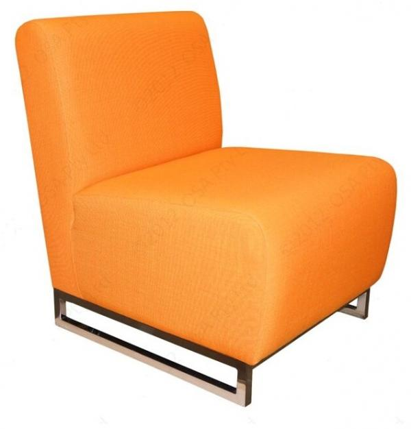 Deon Chrome Lounge Chair
