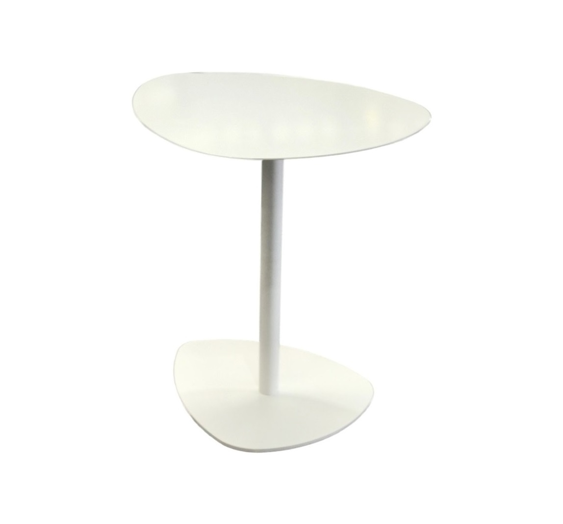 Lilia Coffee Table White Powdercoat