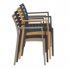 Atria Stacking Chair Lunchroom, Cafe Chair