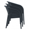 Dune Armchair Stacking Chair