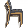 Elaire Chair Lunchroom, Cafe Chair Stack