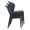 Halle Chair Lunchroom, Cafe Stacking Chair