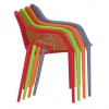 Lennox Chair Lunchroom, Cafe Chair Stacking Armchair