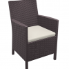 Malibu Tub Chair, Lunchroom, Cafe Chair With Seat Pad