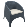 Mirra Lunchroom Chair, Cafe Chair, With Seat Pad
