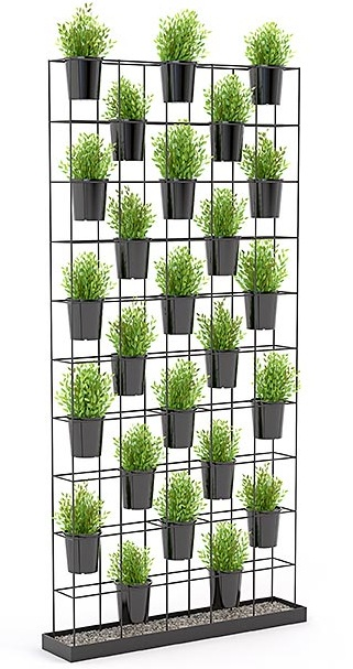 Aces Planter Wall