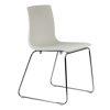 Aelen Sled White Chair