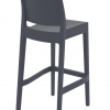Valeria Barstool 75 Lunchroom Chair Back