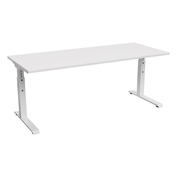 Technic Fixed Adjustable Straight Desk