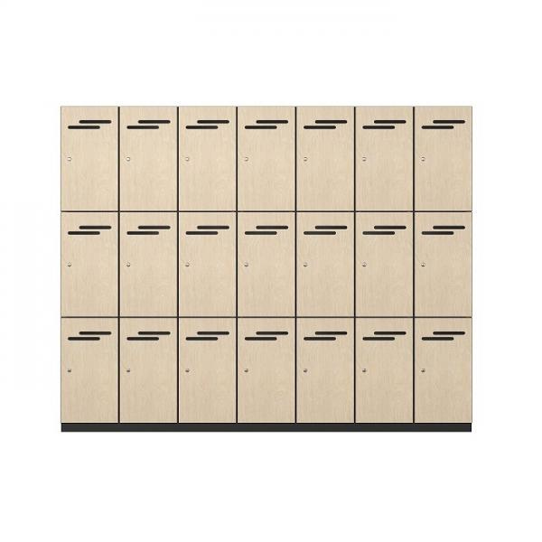 Melamine Vented Locker (2)